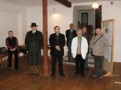 Építéstörténeti kiállítás megnyitója. Selmecbánya, 2012. október 13.